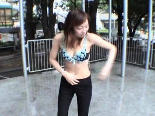 JAV public nudity way-out outdoor exposure Subtitled