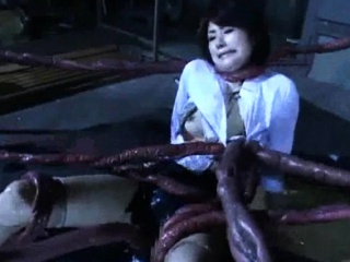 Alien Tentacles Cum Approximately Her!