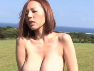 Alert japanese floozy Ruri Saijoh's poon tang is drilled