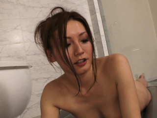 She teases with body massage with the addition of won't let him cum
